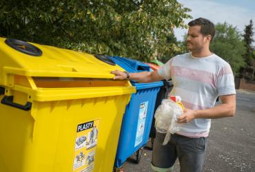 Kraj Vysočina drží v třídění obalových odpadů a kovů stříbrnou pozici mezi kraji